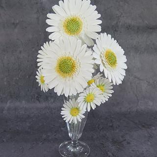 daisies - Cake by MBalaska