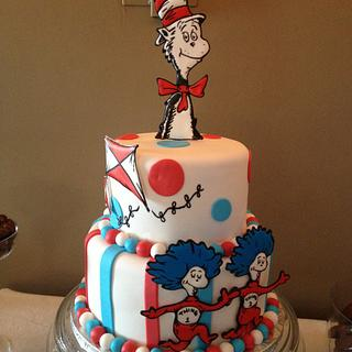 Cat In The Hat - Cake by Emily Foley