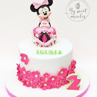 minnie cake - Cake by My sweet miracles