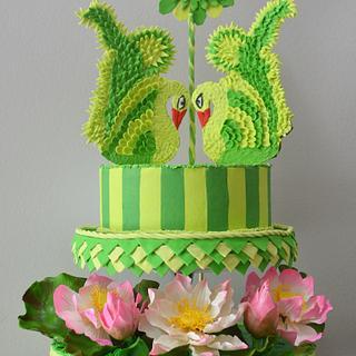 Beautiful Sri Lanka Collaboration - Cake by Inoka (Sugar Rose Cakes)