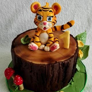 Baby tiger for Hanka