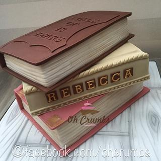 Book cake - Cake by Oh Crumbs