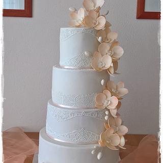 Wedding cake - Cake by Tortolandia