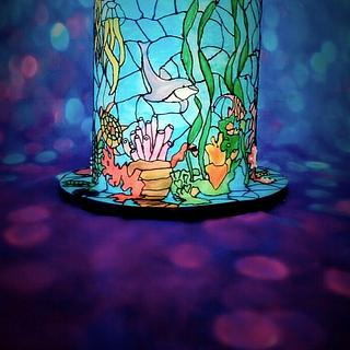 Stained Glass Under The Sea