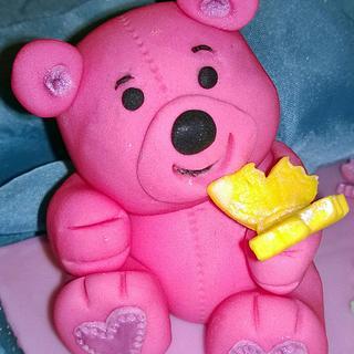 Cute Teddy Bear Topper