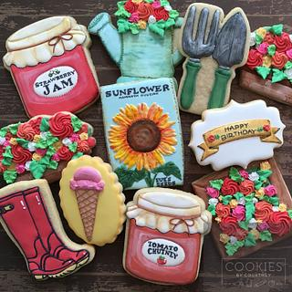 Gardening birthday set