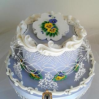 VINTAGE SPRING TIME - Cake by ARISTOCRATICAKES - cake design by Dora Luca