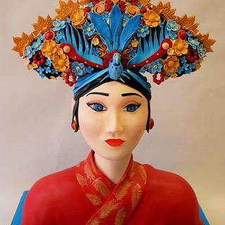 Chinese Royal Women Cake