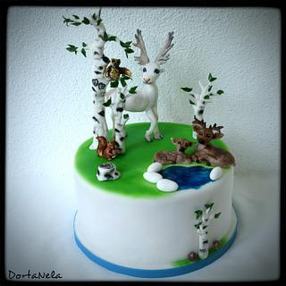 Reindeer kingdom - Cake by DortaNela