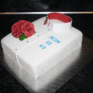 A Nurse uniform cake. - Cake by Natalia