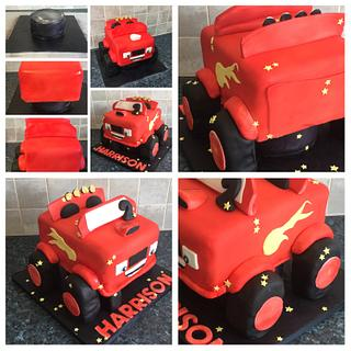 Blaze the monster truck!!