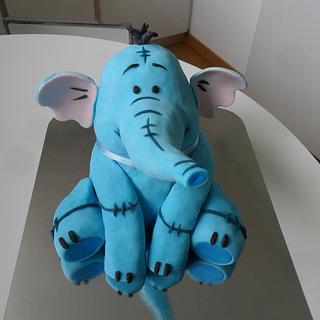Lumpy cake topper
