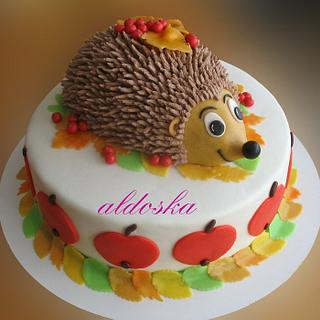 Little hedgehog - Cake by Alena