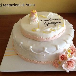 Torta prima comunione - Cake by dolcitentazioni