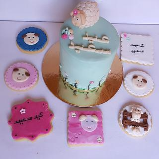 Eid cake 🐏 - Cake by Shery Sweet
