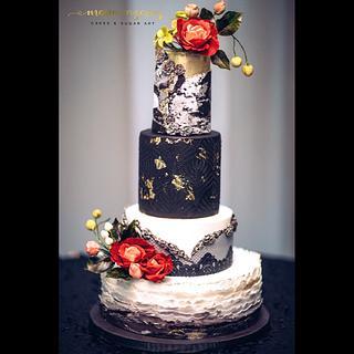"Wedding cake ""If Loving you is wrong"""