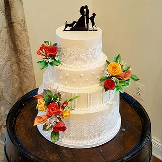 Sister In-law's Wedding Cake