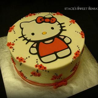 Hello Kitty - Cake by Naturepixie