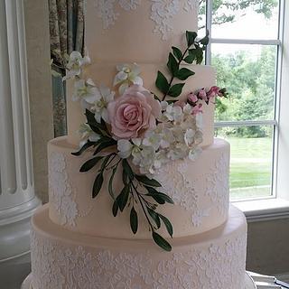 Alexander/Marcantuono Wedding Cake