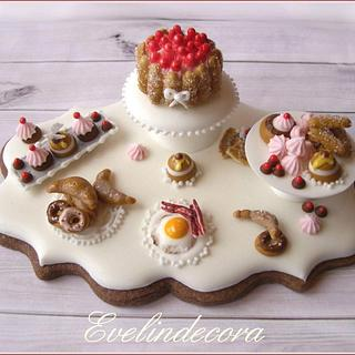 Breakfast miniature cookie