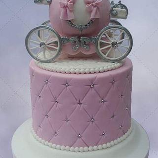 Princess Carriage Cake - Cake by Kim Berriman