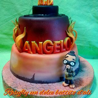 Chop Socky Chooks cake-Chuchie Chan for My Son Angelo