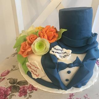 Lady and Gentleman cake - Cake by Doroty