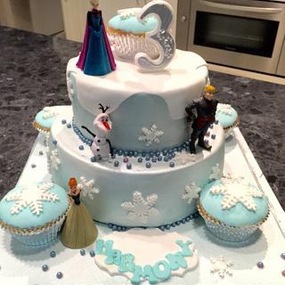 Frozen  - Cake by Kel080