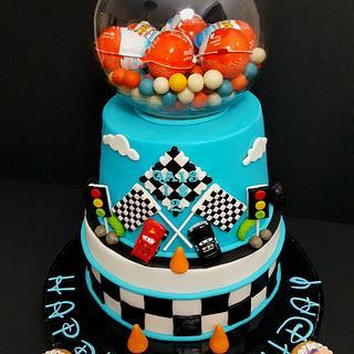 Cars birthday cake - Cake by Simo Bakery