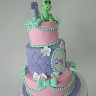 Sweet little dragon - Cake by loveliciouscakes