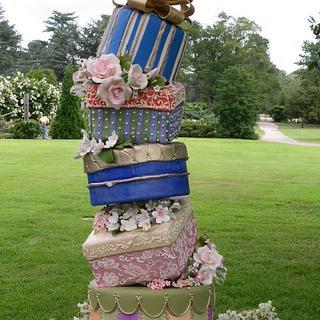 Tipsy Box Cake