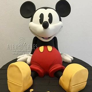Mickey mouse cake  - Cake by Alex