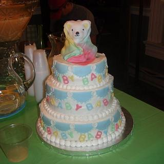 Baby Shower Cake for unknown sex baby