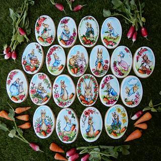Peter the rabbit biscuits...