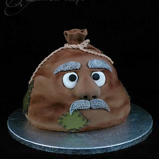 """Old sack"" Birthday Cake - Cake by Zuckersüße"