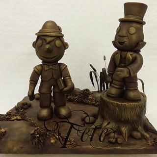 When You Wish Upon a Star Collaboration - Pinocchio and Jiminy Cricket