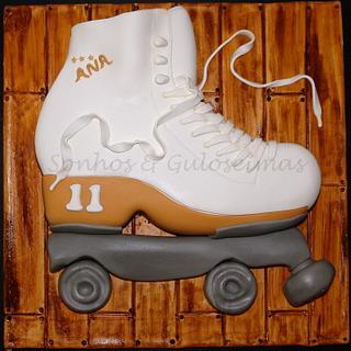 Artistic roller skate