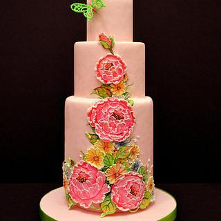 secret garden - Cake by Kelvin Chua