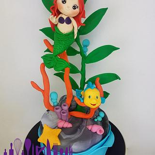 The Little Mermaid <3 - Cake by Archicaketure_Italia