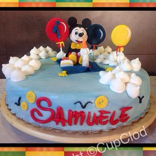 """""""flying carpet""""Michey mouse cake"""