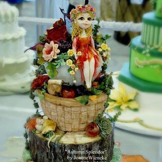 Autumn Splendor - OSSAS2015 - Cake by Joanne Wieneke