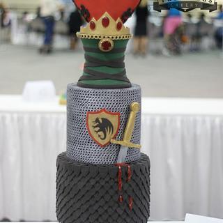 Medieval Love Story ( Award-Winning Cake)