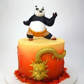 Kung Fu Panda - Cake by Natalia Casaballe
