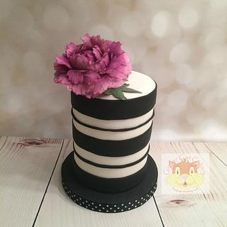 Little striped cake