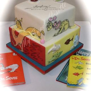 Dr. Seuss 3rd birthday cake - Cake by Cosette