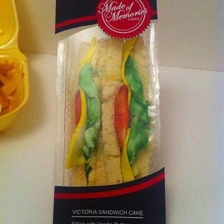 Sandwich cakes