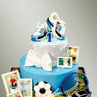 Baby Sport Cake - Cake by MLADMAN
