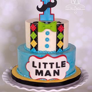Little Man  - Cake by Akiko White