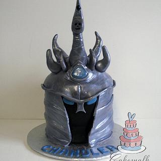 World of Warcraft Lich King Cake - Cake by Heather