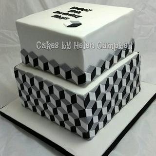 optical illusion cake